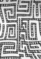 Labyrinthe Athénien (pfaussurier) Tags: noirblanc labyrinthe abstrait géométrique