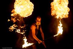 Fire face (AJ Mitchell) Tags: karlzeissjenatriotar135mmf4 performance fire juggle flames m42 caylus