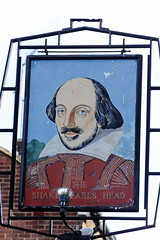 Pub sign for the Shakespear's Head, Islington. (Peter Anthony Gorman) Tags: shakespearshead pubsigns islingtonpubs sign londonpubs
