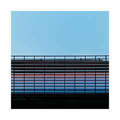 Towson U @ HCC... (roylee21918) Tags: harford maryland hcc architecture sky blue dxo photolab