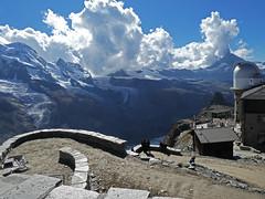 D20046.  Gornergrat. (Ron Fisher) Tags: schweiz suisse svizzera switzerland kantonwallis valais cantonvallese europa europe zermatt mountain snow diealpen thealps swissalps alpessuisses schweizeralpen alpisvizzere gornergrat panasonic lumix tz90 panasoniclumixtz90 compactcamera