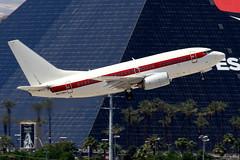 EG&G Janet | Boeing 737-600 | N273RH | Las Vegas McCarran (Dennis HKG) Tags: egg janet area51 www aircraft airplane airport plane planespotting canon 7d 100400 lasvegas mccarran klas las boeing 737 737600 boeing737 boeing737600 n273rh