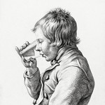 Boy, drinking from a glass (1810) by Jean Bernard (1775-1883). Original from The Rijksmuseum. Digitally enhanced by rawpixel. thumbnail