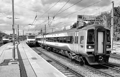 158857 (R~P~M) Tags: train railway dmu diesel 158 multipleunit stagecoach eastmidlandstrains electric locomotive 90 abellio greateranglia norwich norfolk england uk unitedkingdom greatbritain