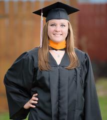 2017_04-Amanda-Grad 2187 (Jeremy Herring) Tags: cap girl gown graduate graduation individuals outdoor photography photos portrait schreineruniversity woman