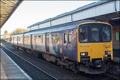 Northern 150137 (Mike McNiven) Tags: northern arriva sprinter dmu diesel multipleunit chester altrincham cheshire interchange clc piccadilly manchester manchesterpiccadilly