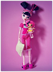 Sweet Dreams ♥ (Linayum2.0) Tags: draculaura lalaloopsy mh monster monsterhigh mattel dolls doll muñecas muñeca toys toy juguetes juguete pink linayum