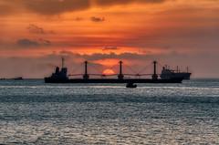 Wiesel's going home (NguyenMarcus) Tags: aasia beach sunrise sunset hdr landscape vietnam worldtracker clouds vungtau bàrịa–vũngtàu vn