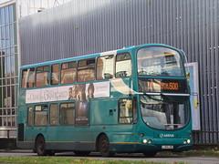 Arriva VDL DB250 (Wright Gemini) 6042 LJ04 LDD (Alex S. Transport Photography) Tags: bus outdoor road vehicle arriva arrivatheshires wright gemini vdl db250 route500 6042 lj04ldd