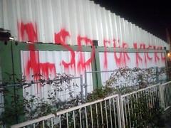 lovemessage (Lackdosetoleranz) Tags: lackdosetoleranz graffiti wien vienna writingonthewall message politicalgraffiti lsdfuerkickl lovemassage liebesbotschaft