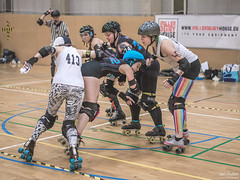 76 (Jan Hutter) Tags: belfast belfastrollerderby northernireland praguecityrollerderby wftda womensflattrackderbyassociation autumn contact czech czechrepublic girls indoor ladies november prague rollerderby rollerskates sport women