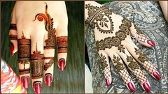 New Stylish & Easy Henna Mehndi Designs For Wedding Function (The Beauty Writer) Tags: new stylish easy henna mehndi designs for wedding function