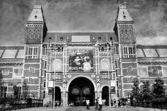 Rijksmuseum - Amsterdam (Aránzazu Vel) Tags: texture rijksmuseum amsterdam museum museo netherlands holanda urban city ciudad blancoynegro blackandwhite monocromo architecture architettura arquitectura
