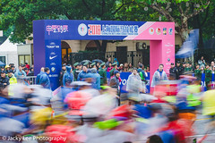 LD4_9493 (晴雨初霽) Tags: shanghai marathon race run sports photography photo nikon d4s dslr camera lens people china weekend november 2018 thousands city downtown town road street daytime rain staff