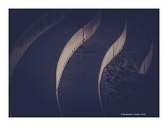 waveform (frattonparker) Tags: afsnikkor28300mmf3556gedvr btonner isleofwight lightroom6 nikond810 raw frattonparker light shade stepped sinuos concrete ventnor minimalist minimal brutalist terrace
