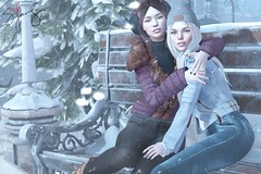 I'll Be Home For Christmas (Jangsungyoung Resident) Tags: second life fashion uber pose friends christmas holiday magika moon elixir rebel gal coco amitie dnc echo