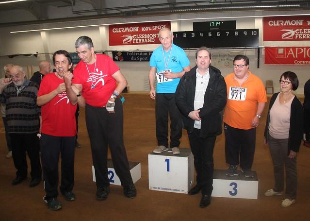Championnat Régional Sport Boules - Clermont-Ferrand (63) - samedi 8 décembre 2018