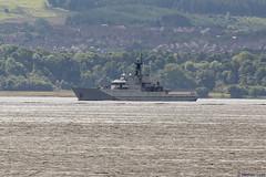 HMS Mersey, P283; Firth of Clyde, Scotland (Michael Leek Photography) Tags: ship warship nato navalvessel natowarships royalnavy rn portsmouth strone clyde hmnbclyde hmsneptune argyllandbute argyll cowal cowalpeninsula coastline britainsarmedforces britainsnavy offshorevessel offshorepatrolvessel riverclass hmsmersey mersey p283 westcoastofscotland westernscotland scotland scottishlandscapes scottishcoastline scotlandslandscapes scottishshipping michaelleek michaelleekphotography
