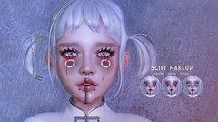 NEW RELEASE! Scifi MakeUp (Unisex) (THIS IS WRONG owner) Tags: scifi futuristic japanese kawaii applier ink tattoo make up makeup beauty