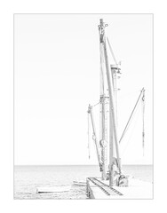 1615 Mono In Moutsouna (foxxyg2) Tags: hk highkey art mono monochrome bw blackwhite niksoftware silverefex dxo moutsouna port naxos cyclades greece emery export