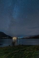 Night Sky 3 (hotspurjohn) Tags: nightsky scotland ballachulish discoverglencoe lochleven landscape scottishlandscape nightphotography mountain nightscape
