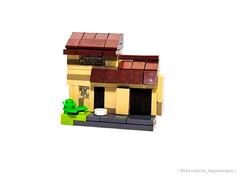 Micro No. 4 Privet Drive (NS Brick Designs) Tags: nsbrickdesigns lego harry potter no 4 privet drive house home micro microscale moc own creation roof dursleys garden garage door