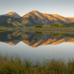4 Twin Lakes Autum 19mm F10 signed thumbnail