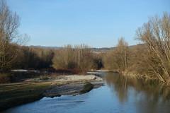 Fier river @ Footbridge on the Fier @ Vallon du Fier @ Annecy