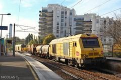 BB(6)75078 + Train laveur + BB75096 - MA90 - Train n°812256 Noisy-le-Roi > Suresnes-Mont-Valérien (nicolascbx) Tags: bb75000 bb75078 bb75096 prima alstom siemens sncf trainlaveur railheadtreatmenttrain gco grandeceintureouest saintgermainenlaye fourqueux infra sncfréseau sncfinfra train tren zug lignel noisyleroi suresnesmontvalérien autumn