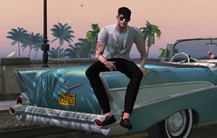 California dreamin' (MATTY // *OMG*) Tags: sl secondlife look lotd photo outfit new mesh clothes clothing blog bloggers men mens male style wear event fameshed complex modulus hair shirt pants formal deadwool loafers casual street urban photography cali california