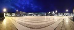 BER Airport Berlin? (Pinky0173) Tags: ber airport berlin brandenburg bluehour blauestunde willybrandt canon panorama pinky0173