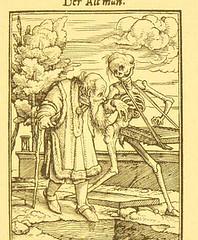 This image is taken from Page 73 of Der Todtentanz von H. Holbein, nach dem Exemplare der ersten Ausgabe im Kgl. Kupferstich-Cabinet zu Berlin in Lichtdruck nachgebildet (Medical Heritage Library, Inc.) Tags: dance death rcplondon ukmhl medicalheritagelibrary europeanlibraries date1879 idb22651263