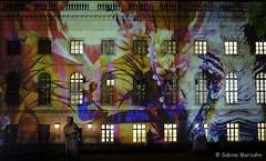 Humboldt Universität (Sockenhummel) Tags: 2018 berlinleuchtet festivaloflights fol nacht night licht beleuchtung humboldtuniversität hu gebäude haus building bunt fuji xt10