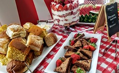 20180830_115417 (cafe_services_inc) Tags: brightonmarine cafeservices corporatedining brighton bbq desserts trifle brownies strawberries shortcake strawberry rolls