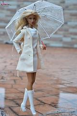 Natalia Fatale Elusive Creature (CAYRA FASHION DOLL) Tags: cayra fr natalia fashion fashionroyalty rain umbrella 16