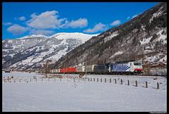Lokomotion 189 917, Dorfgastein 29-12-2017 (Henk Zwoferink) Tags: luggau salzburg austria at dorfgastein lomo lm lokomotion rtc railtractioncompany 189 917 ekol henk zwoferink