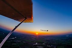 Flying with Santa Claus (bonfa23) Tags: fly flyingwithbonfa bonfa santa claus natale sky sunset sun wing nikon d7000 landscape magic moment like photo 8mm samyang fisheye