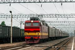 ЧС4Т-514 (logica.bs) Tags: чс4т514 сев сжд жд поезд нея станция транспорт транссиб электровоз сентябрь 2018