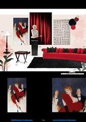 46-0368 Piaf combination cgfb 1 (claus.baermeier) Tags: luxury furnishing christopher guy interiorsinstyle living dining bedroom lobby office hospitality art deco picture mosaic