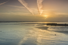 Direction (Through Bri`s Lens) Tags: sussex sunsetreflections sunsetbeachskyseatidesouth sand sea brianspicer canon5dmk3 canon1635f4 leefilters