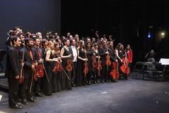 Foto de familia (Guillermo Relaño) Tags: guillermorelaño nikon d90 teatro nuevoapolo orquesta camerata musicalis especial ¿porqueesespecial schuman sinfonía cuarta concierto