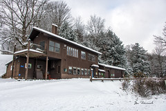 My Camp-Wattles Run (dfbphotos) Tags: 2018 november fall tioga landscapes mountains nature snow sabinsville tiogacounty places wattlesrun dbcamp house collections buildingsarchitecture camp pa usa