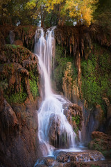Havasupai-4367 (Michael-Wilson) Tags: grandcanyon michaelwilson supai havasupai waterfall river stream flow vertical tall arizona desert southwest