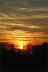 Onderdendam (Schnarp) Tags: onderdendam zon sonne sun soleil natuur nature natur bomen trees baume arbres hdr henrirengers edited bewerkt nederland netherlands holland niederlande paysbas europa europe pentaxk10d zonsondergang sunset