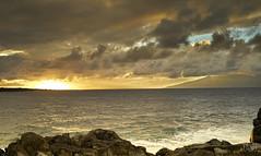 Makaluapuna Point, Sunset, Maui, Hawaii 9400 (doug.h.butler) Tags: sunset goldenhour maui makaluapuna point makaluapunapoint hawaii clouds cloudscape skyandclouds pacific pacificocean dragonsteeth beachphotography coastline
