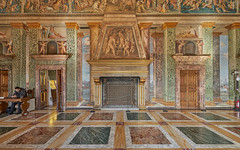 Villa Farnesina (neoBIT) Tags: arches architecture building carved ceiling construction decoration fresco hall heritage historic landmark level lines marble monument muralpainting ornamentation pattern picturesque relief stonetracery stonework stucco vault wall wife baroque renaissance roma lazio italy regola