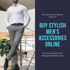 Photo (Gentle Today) Tags: beard care belts bracelets cufflinks handkerchiefs scarves sunglasses time bows wallets money clips watches