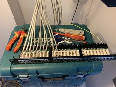 "Home Network Installation In the process In Stanmore, Harrow, London. • <a style=""font-size:0.8em;"" href=""http://www.flickr.com/photos/161212411@N07/45908748305/"" target=""_blank"">View on Flickr</a>"