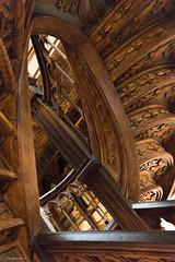 Livraria Lello, Porto (Benoît Penquerc'h) Tags: architecture voyage porto tourisme portugal escalier stairs travel d800 nikon 2470 librairie bibliothèque library