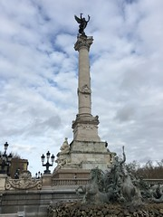 Monument aux Girondins, Bordeaux (David Jones) Tags: bordeaux monumentauxgirondins placedesquinconces statue fountain column